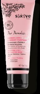 Masque 2-en-1 Gommant Purifiant Pur Paradisi - Soins Naturels Visage - Saève Paris